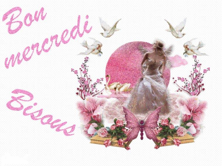 bonjour à tous mes amis(e)s .. je vous souhaite une belle journée de mercredi.. bisous Josie