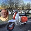 Cadeau pour mon ami Paco fan de Vespa !!! ...mille bisous Josie