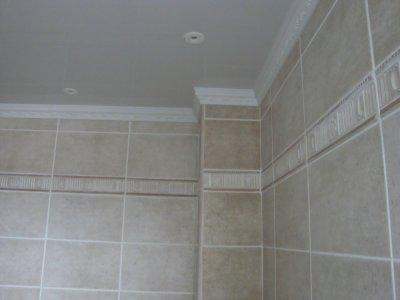 Poser du carrelage au plafond 28 images salle de bain for Placo carrelage