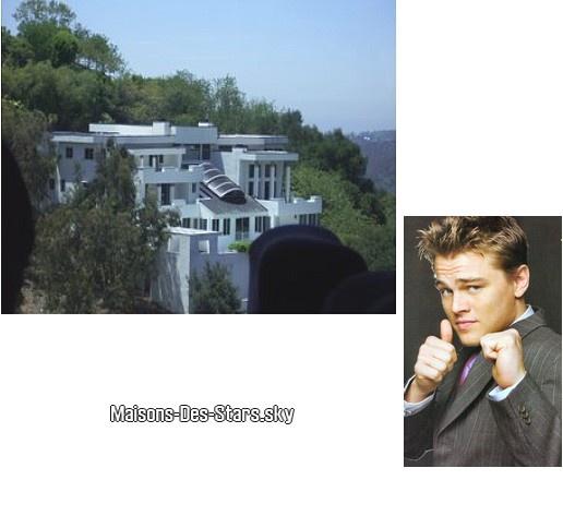 Leonardo dicaprio los angeles californie blog de for Maison de star a los angeles