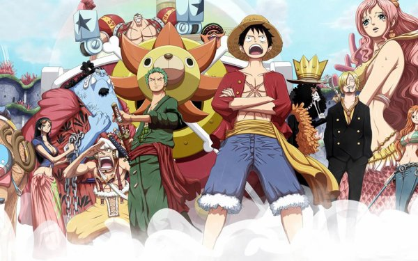 One piece 2 ans plus tard team manga anime - Robin 2 ans plus tard ...