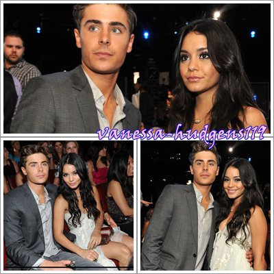 MTV MOVIE AWARDS 2010 : Vanessa & Zac ♥
