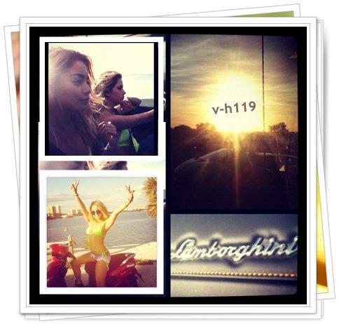 Photo coup de coeur (l) + Photos personnelles de Vanessa Hudgens