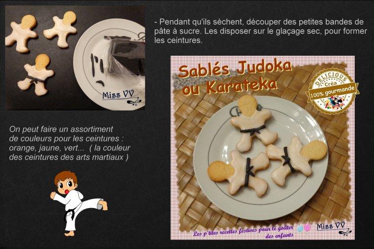 SABLES JUDOKA OU KARATEKA ( POUR LES ENFANTS )