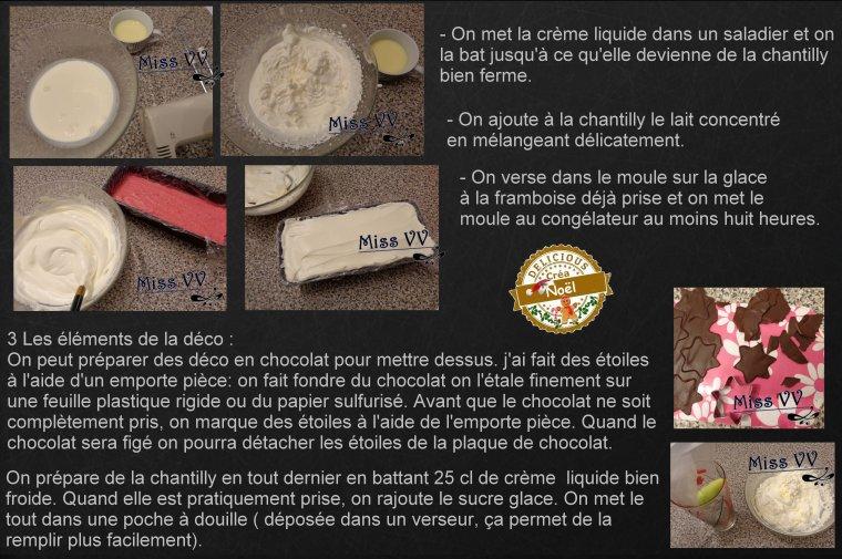 VACHERIN DE NOEL ( POUR LES INVITES )