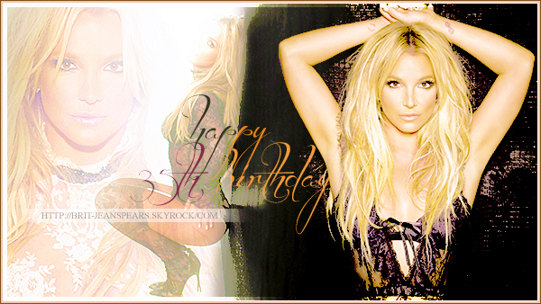 . Happy 35th birthday to our one and only queen ! We love you so much angel ♥ .