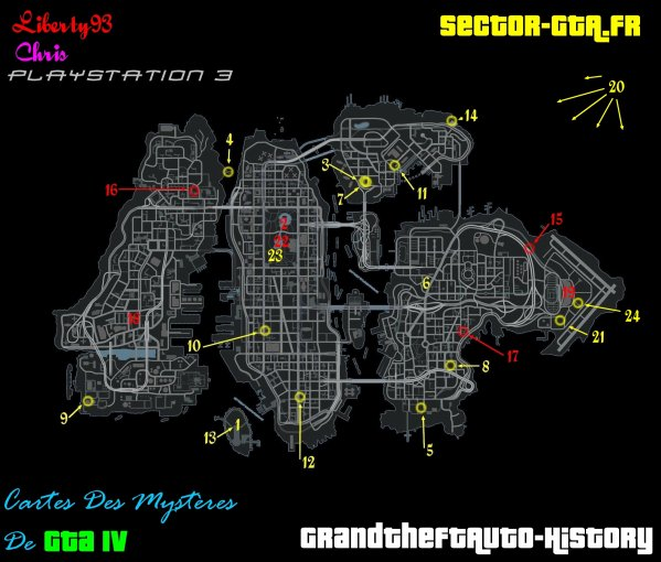 Carte rencontre gta 4