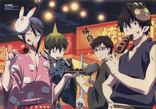 Sondage n'1 : Quel est ton personnage préférer de Ao no exorcist ?