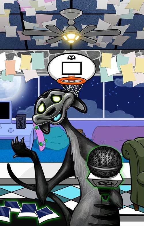 Alien Meerkats app.