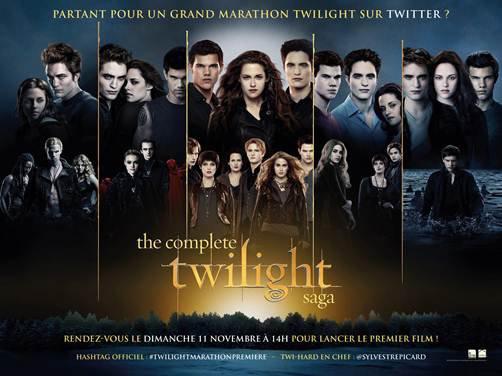 Marathon Twilight sur Twitter