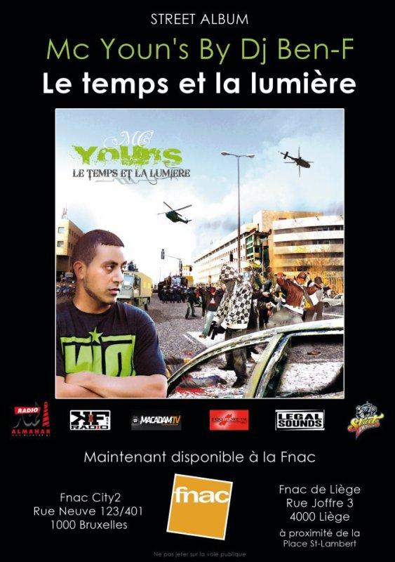 Street Album enfin disponible � la Fnac de Bruxelles(City2) et de Li�ge.