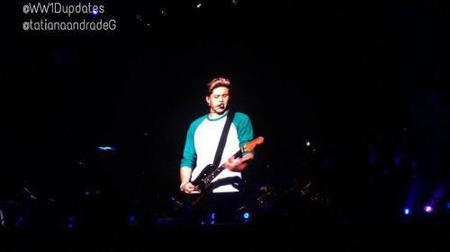 Niall pendant le premier concert du WWAT
