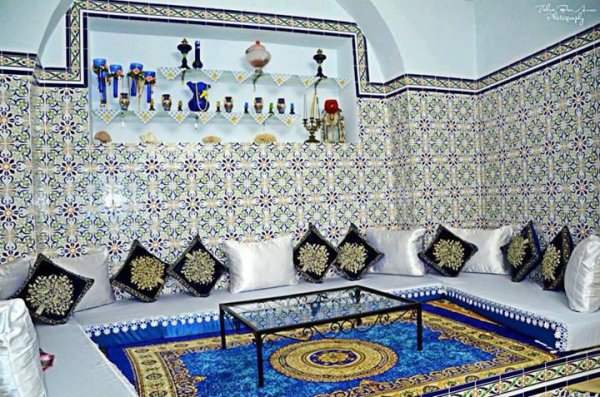 Maison arabe architecture tunisienne ameni amine7985 for Architecture maison arabe