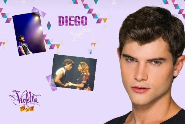 Montage personnages de violetta you only live once - Personnage violetta ...