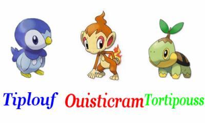 Tiplouf ouisticram et tortipouss le monde pok mon - Pokemon ouisticram ...