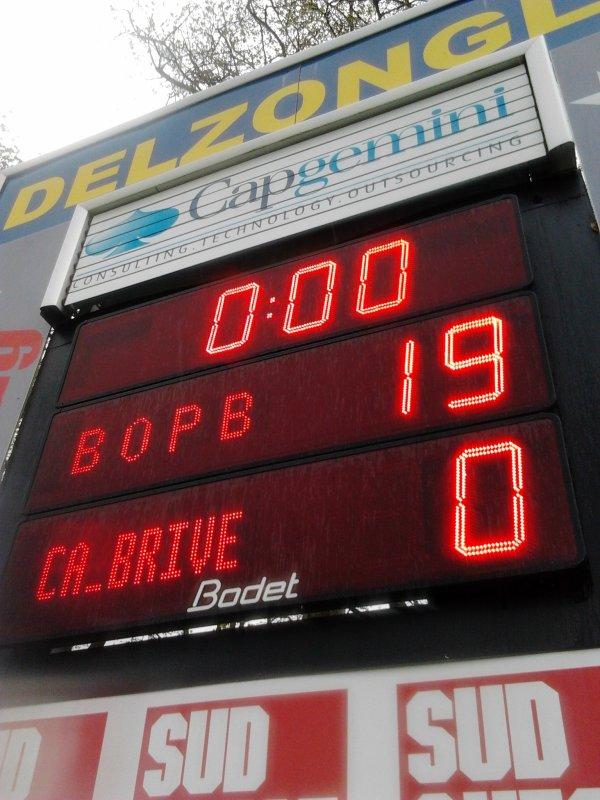 BO vs brive Demie Finale du Challenge Europ�en ^^ !!!!