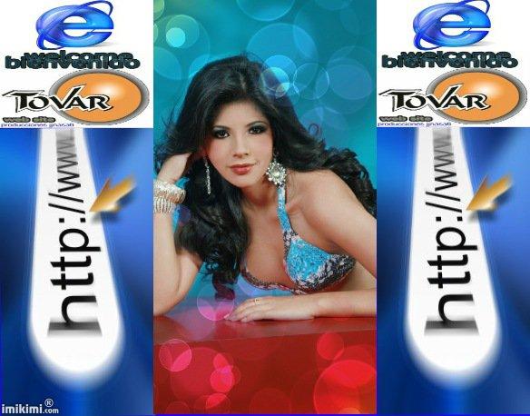 CHICA INTERNET 2012  y REINA TAURINA ... Srta Evelyn Guerrero  FELICITACIONES....................