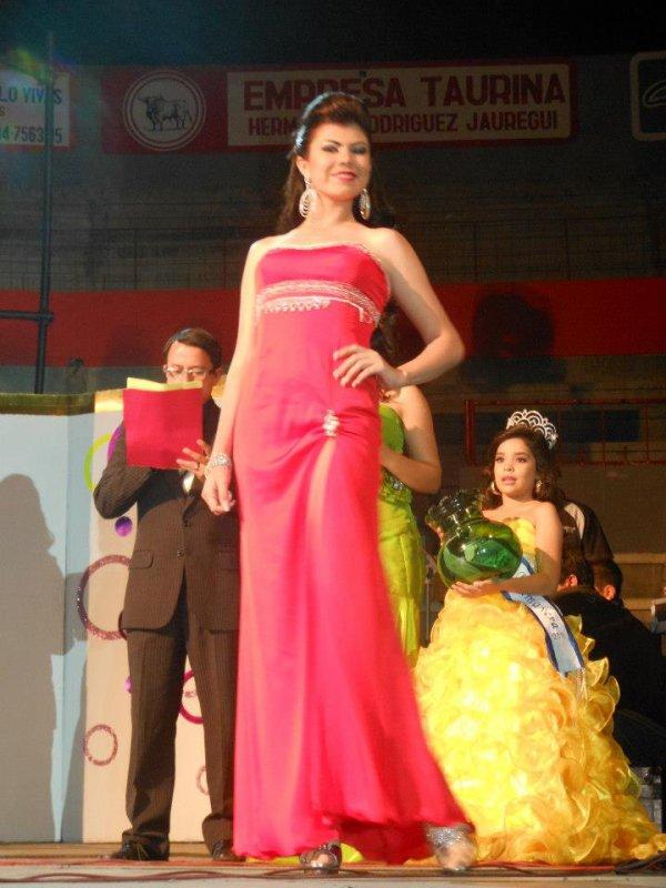 Srta Maria Fernanda Peña, reina del deporte y mis amistad