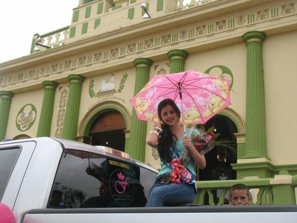 FABIANA MARQUEZ VISITA  LOS DE  PUEBLITOS GUARAQUE Y RIO NEGRO