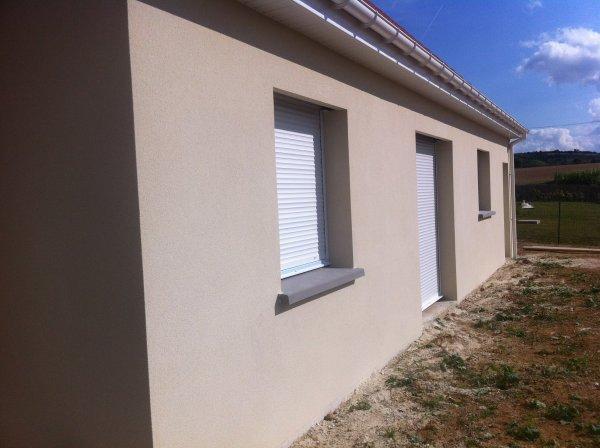 L 39 enduit exterieur la construction de notre maison par kerbea - Couleur de crepis exterieur maison ...