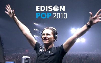 Tiësto nominated for Edison Awards 2010!