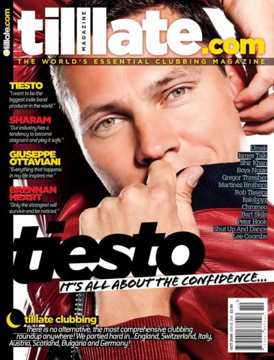 OCTOBER 09 TILLLATE MAGAZINE – TIESTO COUVERTURE EXCLUSIF !