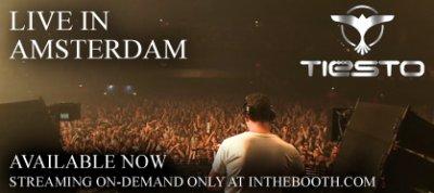 Joignez-vous à regarder InTheBooth incroyable concert de Tiësto d'Amsterdam!