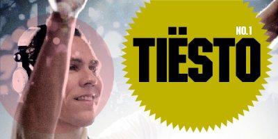 """Tiësto a été voté # 1 dans Mixmag de «DJ Greatest Of All Time"""" du concours."""