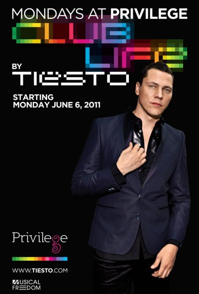 Tiësto announces his 2011 Club Life summer residency at Privilege Ibiza