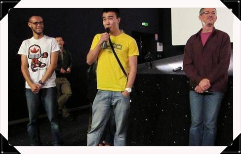 """Showting. Diffusion des court-m�trages """"Le choix"""" et """"Le destin"""" au cin�ma Studio � Tours"""