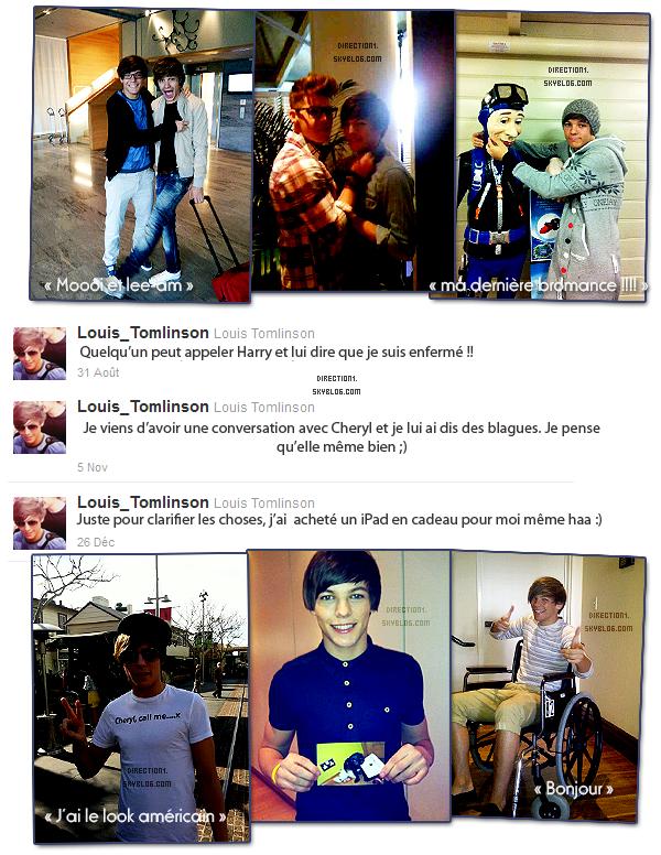 Twitter Time avec Louis Tomlinson
