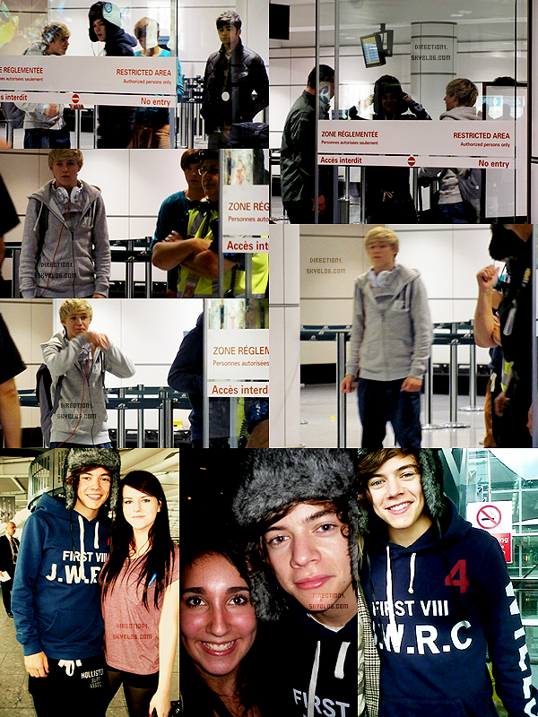 Photos de Fans + Blague de Harry + Les 1D au Canada