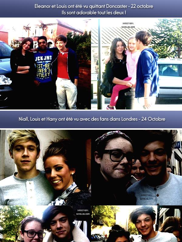 Eleanor & Louis + Interview + Photoshoot + Photos de fans + Gotta Be You