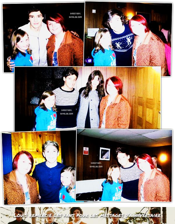 Noël en famille + Louis + Fans + Radio + Niall + Interview