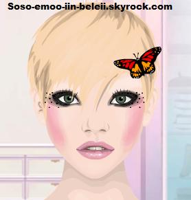 Papillon pour les cheveux gratuiiiiiiit ! :)