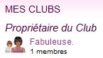 Mon Club (Fabuleuse.)