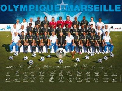 équipe de Marseille 2010/2011