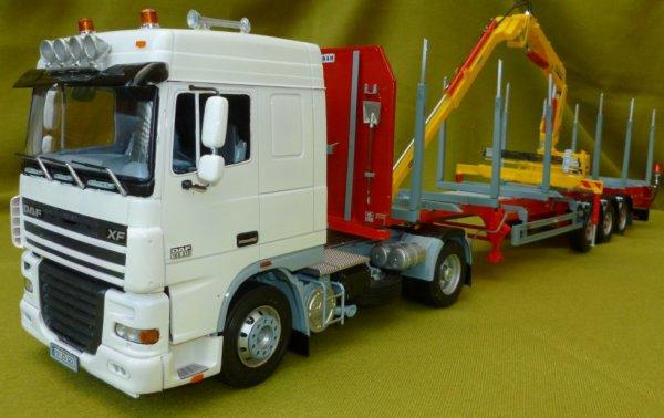 maquette remorque camion 1 24. Black Bedroom Furniture Sets. Home Design Ideas