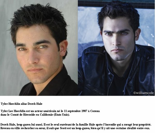 Tyler Hoechlin alias Derek Hale