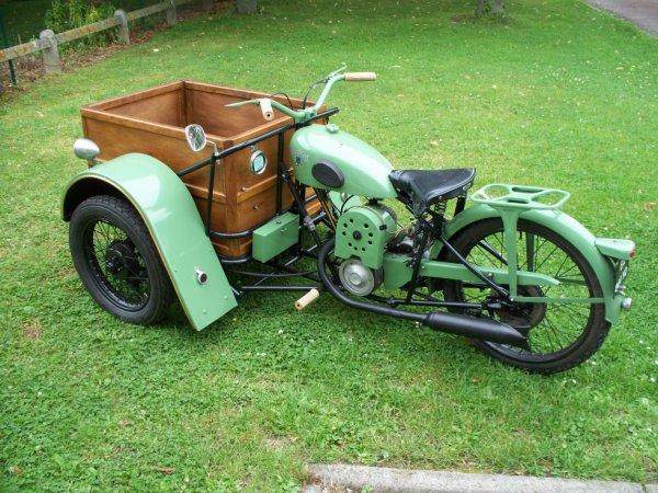 triporteur peugeot de 1948 motobecane peugeot. Black Bedroom Furniture Sets. Home Design Ideas