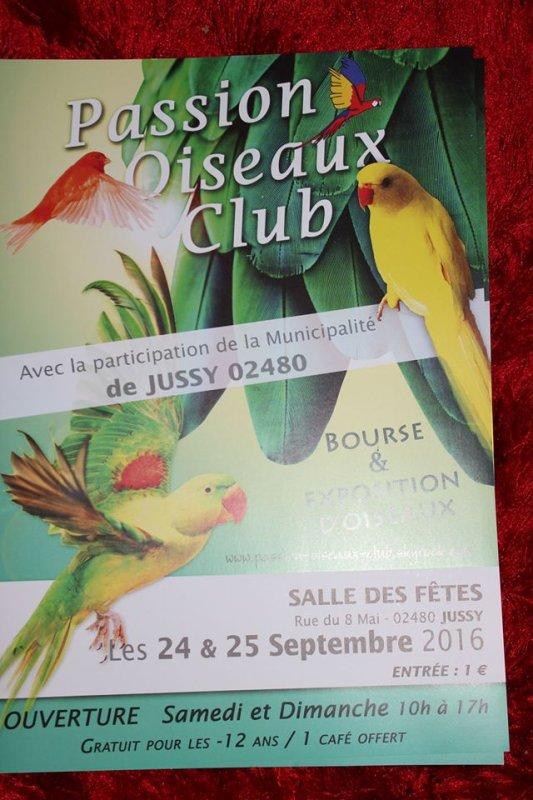 1 �re Bourse / Expostion du Passion Oiseau Club