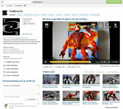 Mes reviews - par Toa-Bionicle