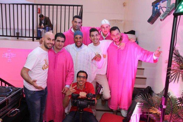 C�l�bration d'un mariage marocain � la salle � Le Mauresque � 12/04/2014