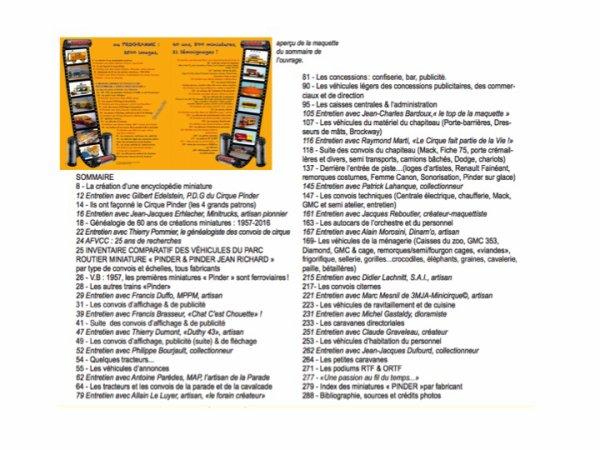 MINIATURES DE CIRQUE: FABRICATION DU LIVRE (3)