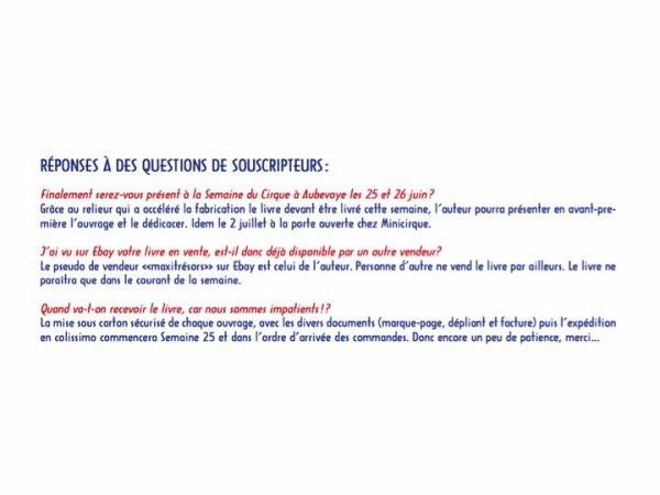 MINIATURES DU CIRQUE: FABRICATION DU LIVRE (4)