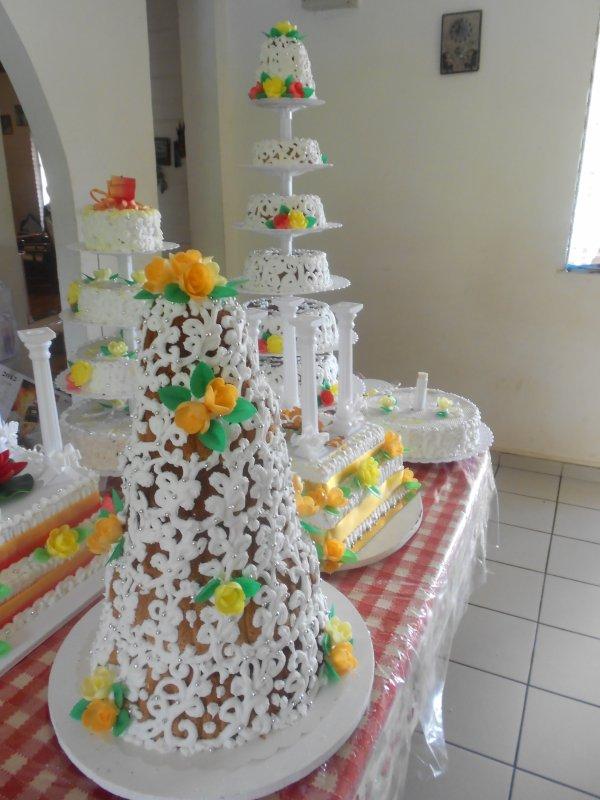 Decoration Gateau Bapteme Antillais