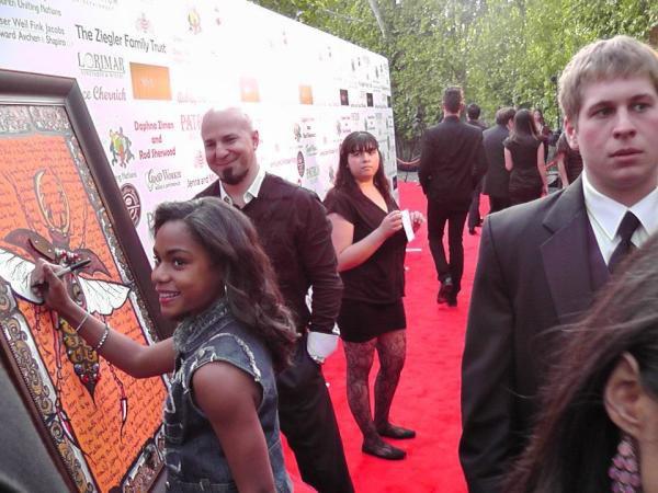 Quelques Photos d'Aanysa aux Oscars