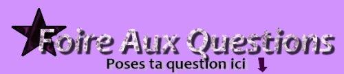 F.A.Q du blog