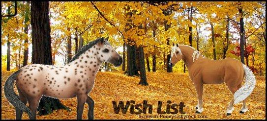 Wish list 2011
