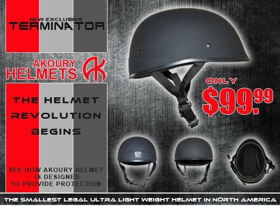 Terminator Helmet by Akoury